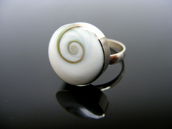 Shivas Eye Ring , verstellbar