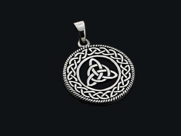 """Anhänger """" Keltischer Knoten"""" (26mm)"""