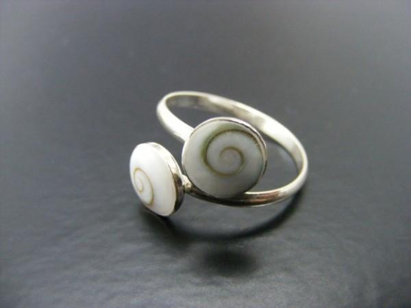 Shivas Eye Ring , verstellbar