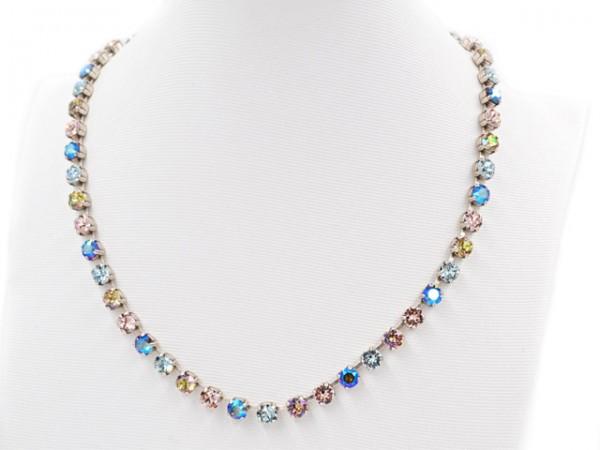 """Collier """"Shimmering Bl. Diamond"""" besetzt mit Swarovski Kristalle"""