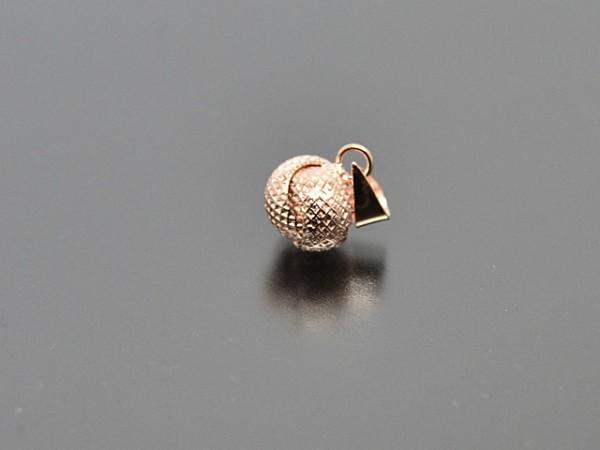 Anhänger Knoten (8 mm),rosevergoldet