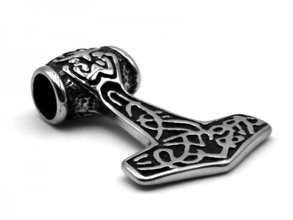 "Edelstahlanhänger ""Thors Hammer"" (4x3cm)"