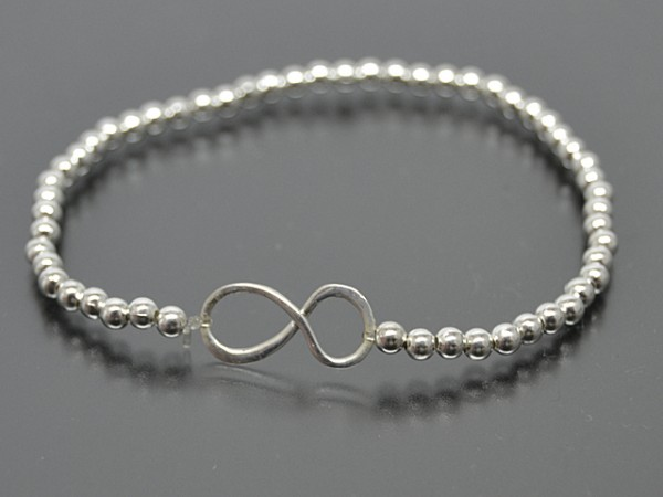 """Kugelarmband """"Infinity"""" (18cm)"""