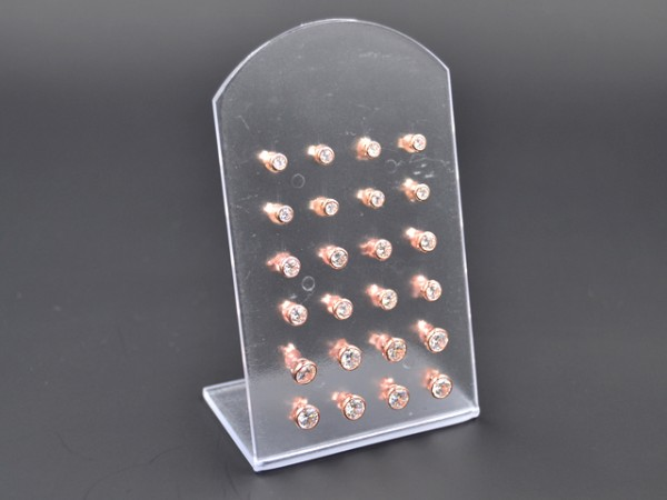 Display Ohrstecker (12 paar)(rosegold)