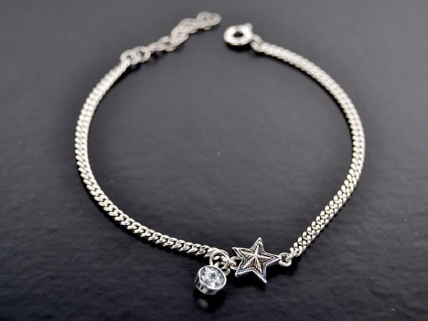 "Armband ""Star"" mit Crystal"