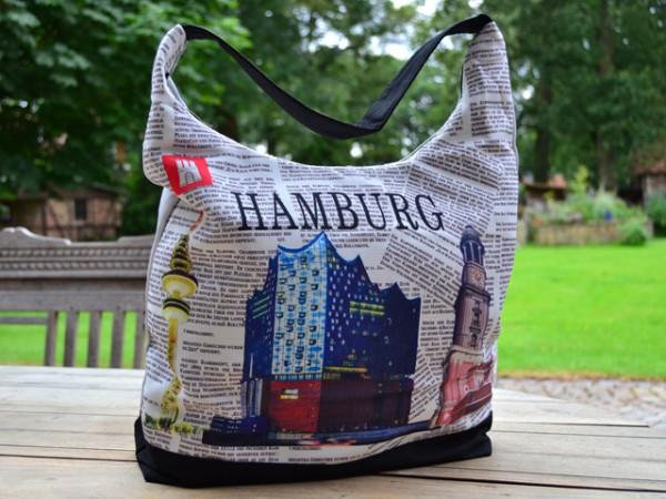 """Umhängetasche """"Hamburg City"""" (420 mm x 260 mm x 250 mm)"""
