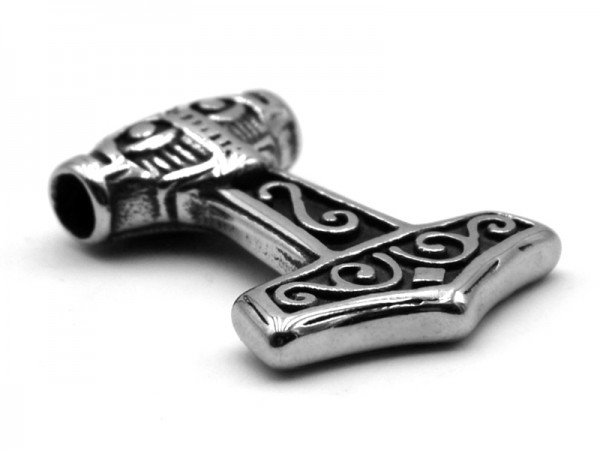 "Edelstahlanhänger ""Thors Hammer"" (3x2cm)"