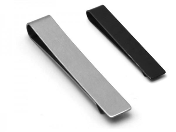 Edelstahl Geldklammer (6,5cmx1cm)