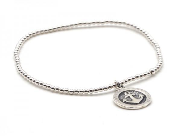 "Kugelarmband ""Anker"" (18cm)"