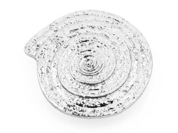 Magnetclip Schnecke silber