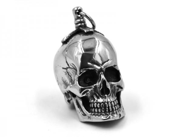 """Edelstahlanhänger """"Skull"""""""