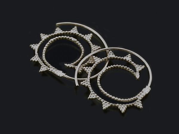 "Ohrhänger ""Spirale"" (30mm)"