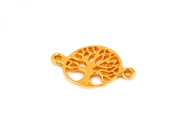 """Anhänger """"Baum des Lebens"""",vergoldet"""