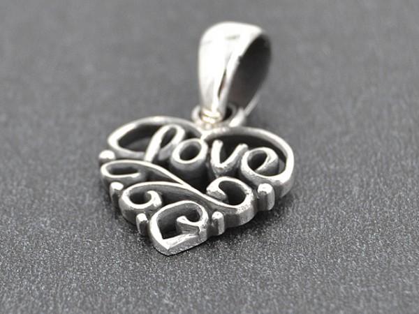 Anhänger Herz. Love