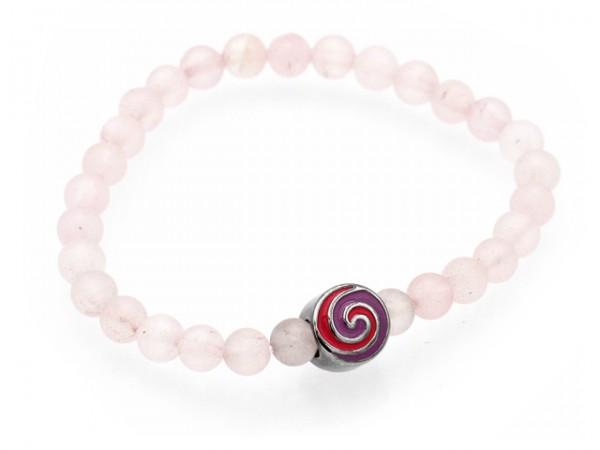 """Armband """"Pink Twister"""""""