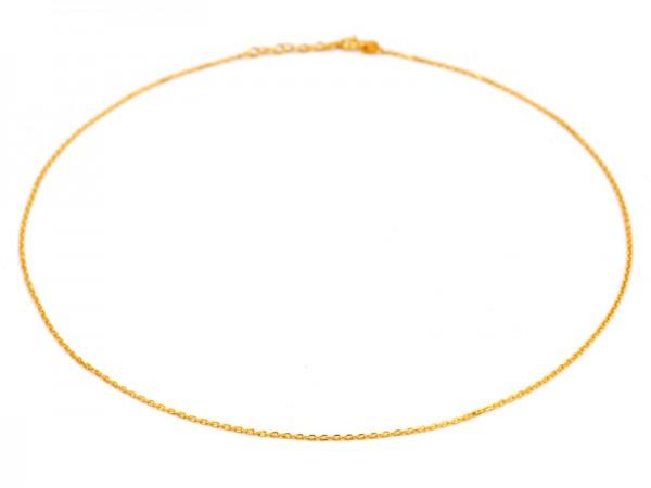 """Kette """"Hannah"""" (41+3cm) vergoldet 3St."""