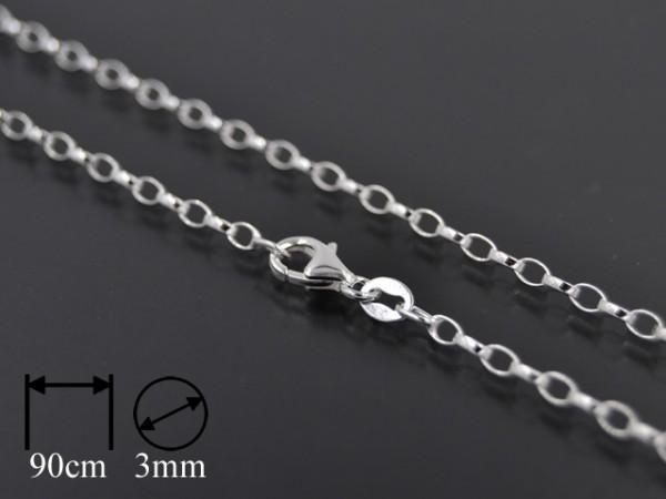 Kette Rolo Oval (3mm) [90cm]