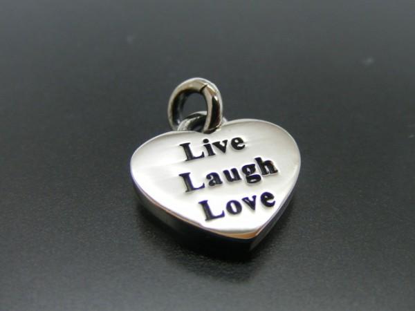 "Herzanhänger ""Live,Laugh,Love"""