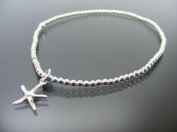 "Kugelarmband ""Sea Star"" (18cm)"