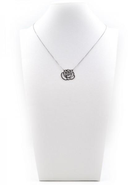 """Edelstahlkette """"Rose"""" (45+5 cm)"""