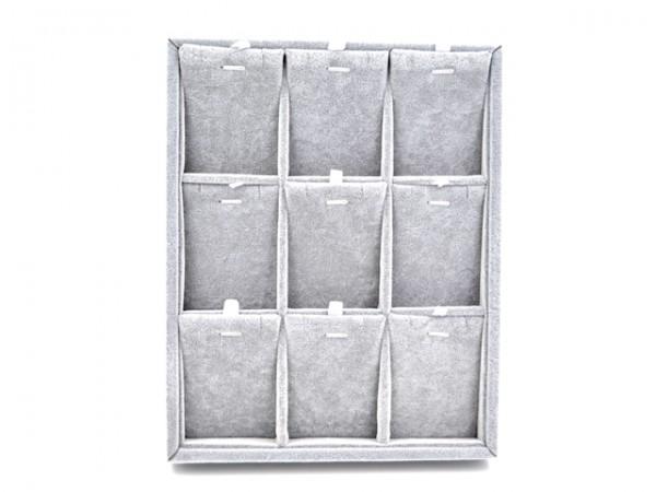 Display für Anhänger, grau