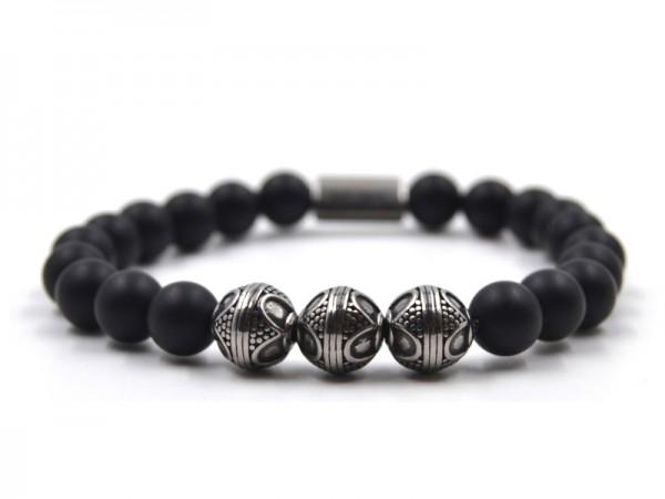 Onyxball Armband