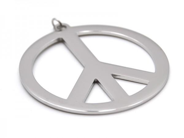 "Edelstahlanhänger ""Peace"" (Durchmesser 5cm)"