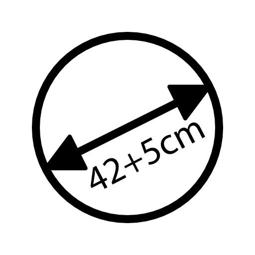 42 + 5cm