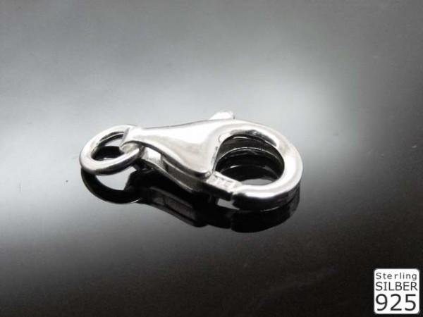 Karabiner 925er Silber (Inhalt 10 Stück)