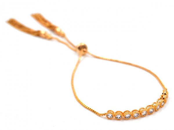 """Armband """"Glitter"""" GOLD"""