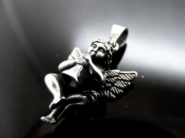"""Anhänger """"Engel mit Flöte"""""""
