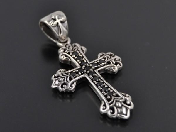 Anhänger Kreuz mit Steinen